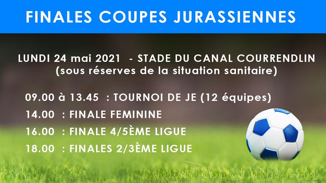 Finale des coupes jurassiennes de football
