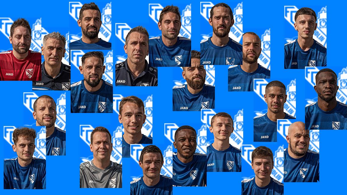 Les portraits des joueurs de la première équipe du FC Courrendlin