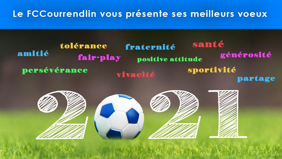 Les voeux 2021 du FC Courrendlin